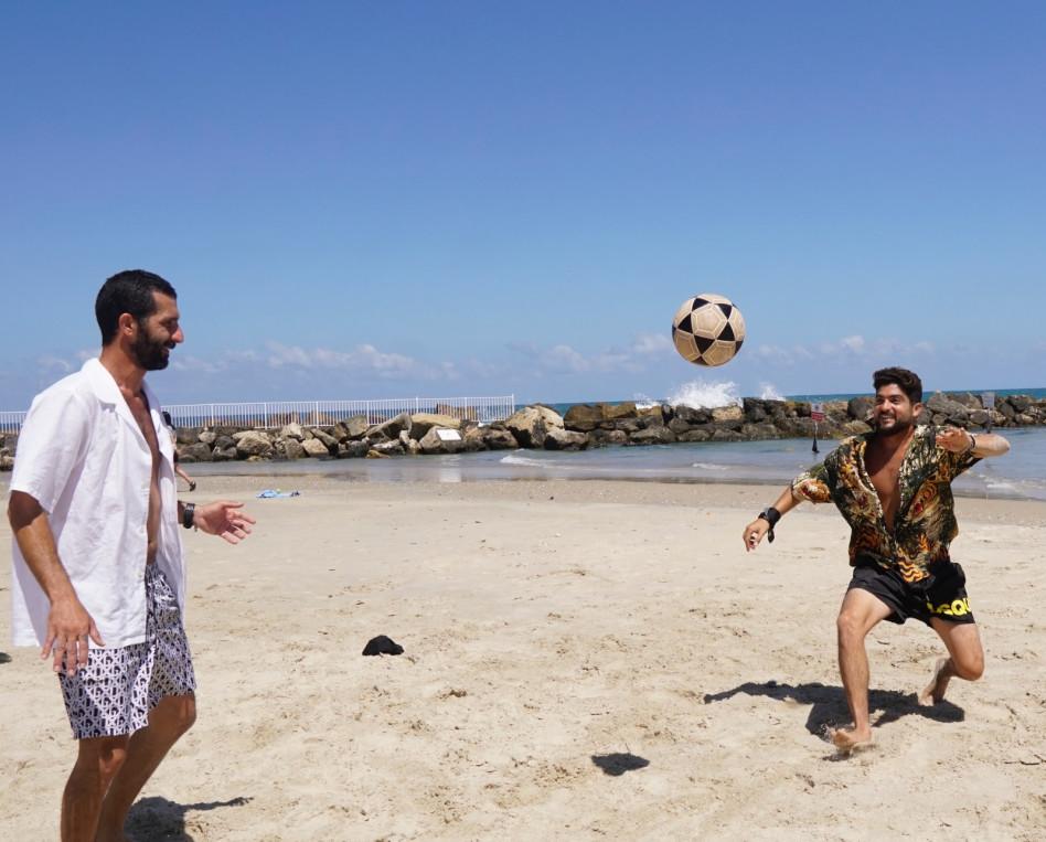 אושרי כהן וחברים (צילום: מור אזולאי)