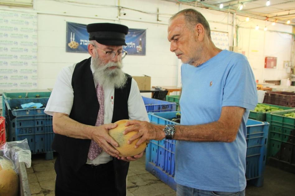אברם גרנט ויעקב גלוברמן (צילום: יד ביד)