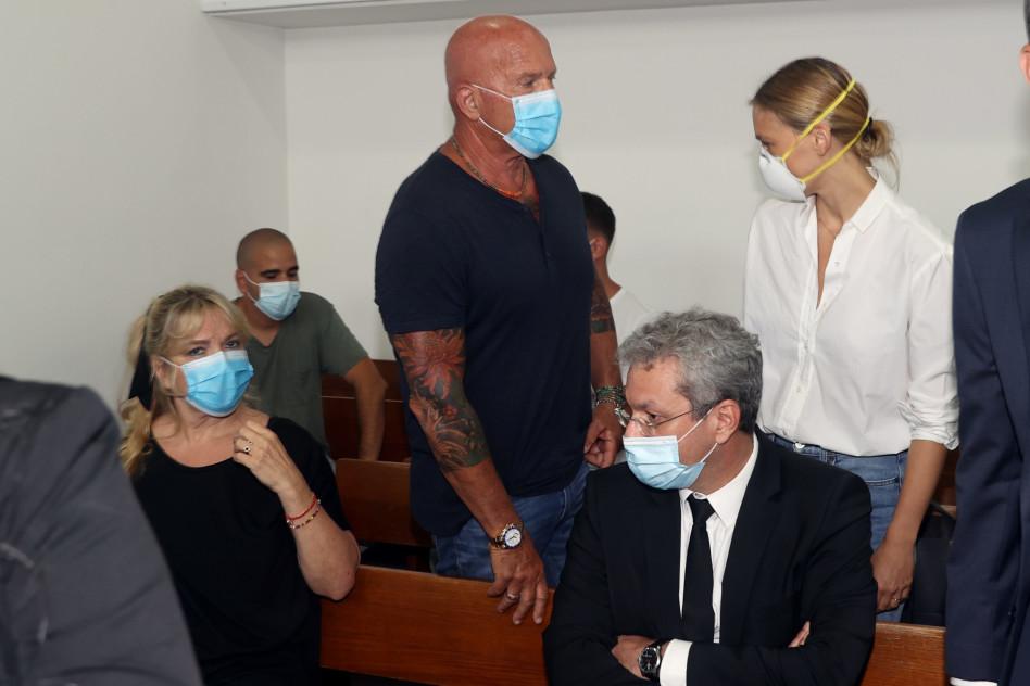 בדיון בבית המשפט (צילום: יריב כץ, פול)