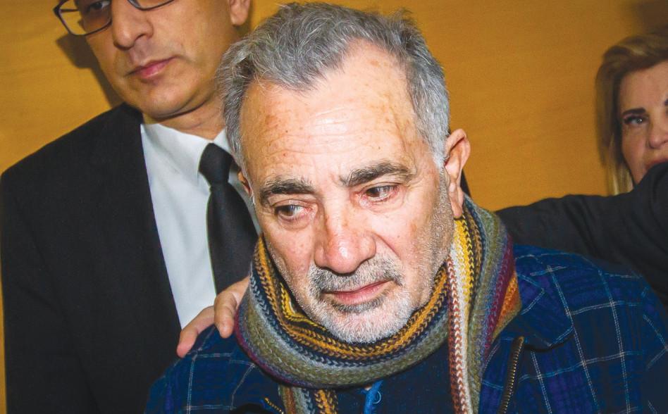 משה איבגי מגיע לבית המשפט (צילום: פלאש 90)