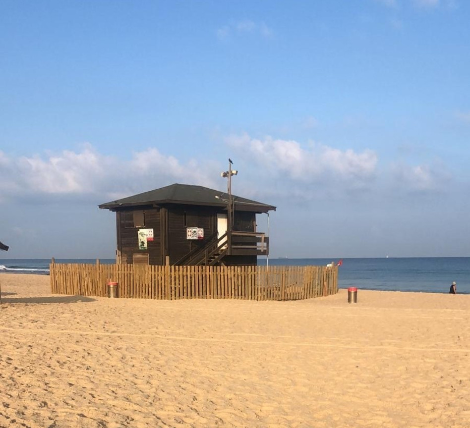 חוף ניצנים, אופטימי, הלאונג' (צילום: פרטי)