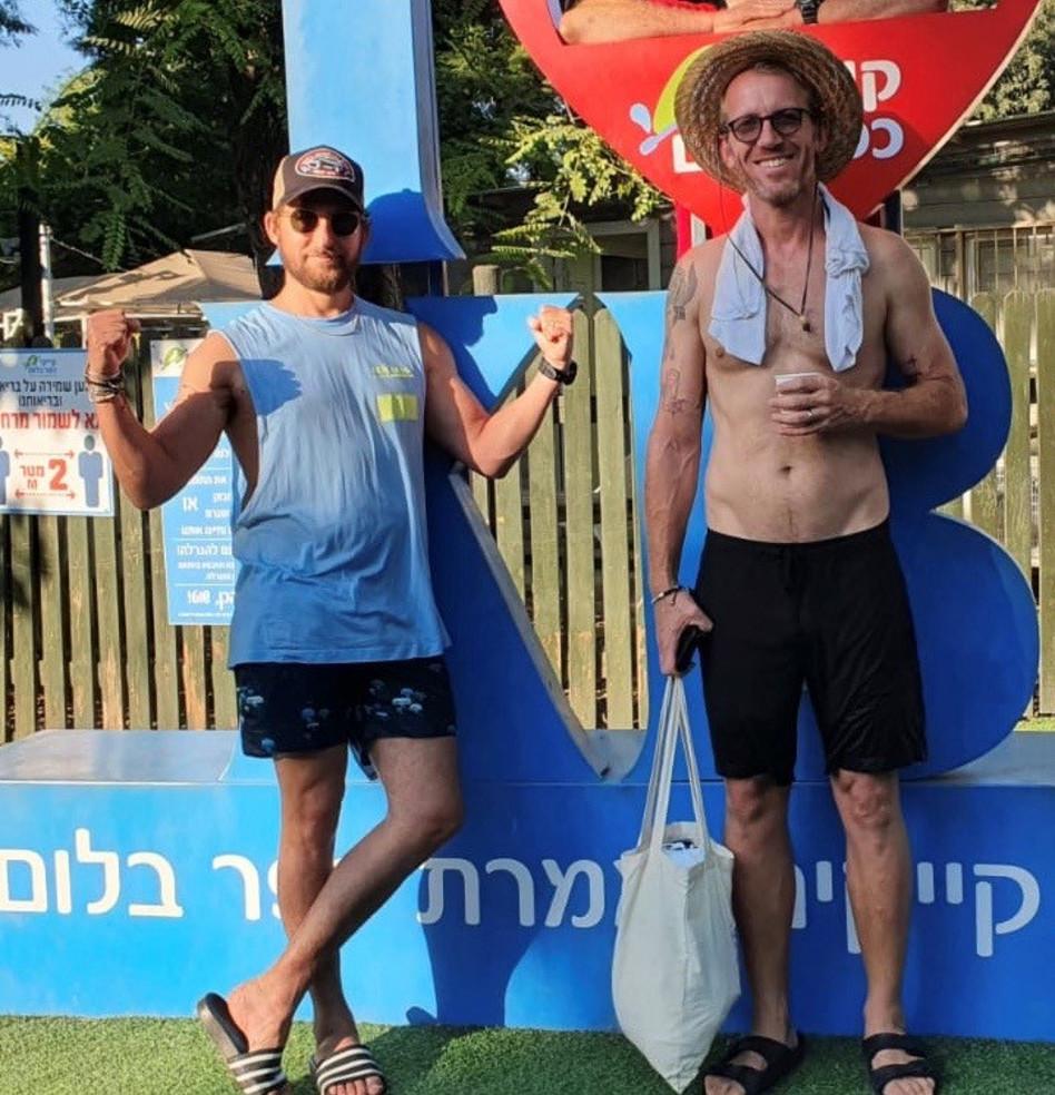 ירון ורסנו ואורי פפר (צילום: קייקי כפר בלום)