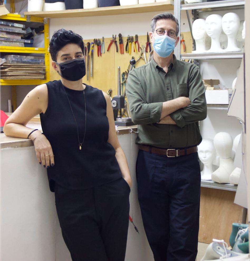 עדי שטרן ושלי סתת-קומבור (צילום: עדן זורניצר)