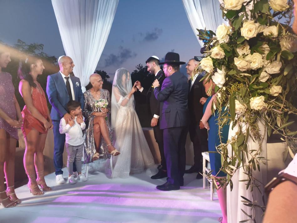 בתו של דידי הררי מתחתנת (צילום: איציק אוחנה)
