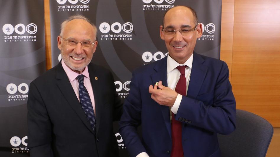 אמיר ירון ויעקב פרנקל (צילום: נאור שוורץ)