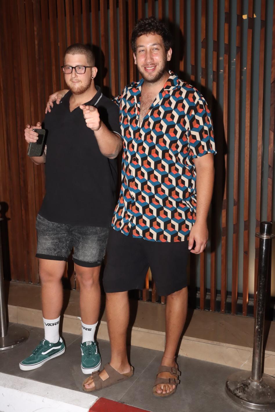 בן ואורי, המירוץ למיליון (צילום: אביב חופי)