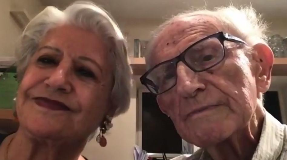 מיכאל ושרה סלע (צילום: צילום מסך)