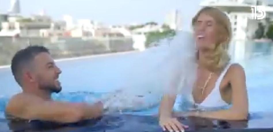 ליאן ואביתר (צילום: צילום מסך רשת 13)