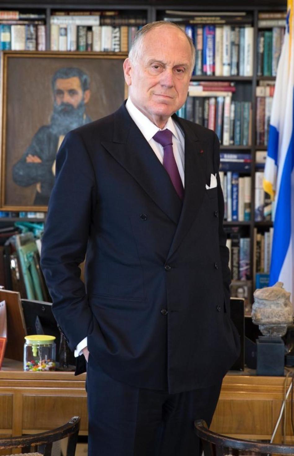 רונלד ס. לאודר (צילום: נועה גרייבסקי)