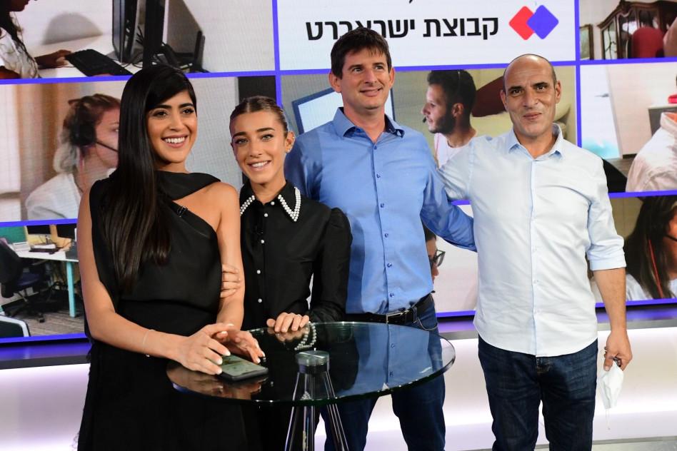 ליאור שמואלי, רון וקסלר, אן זיוי וירדן ויזל (צילום: אבשלום ששוני)