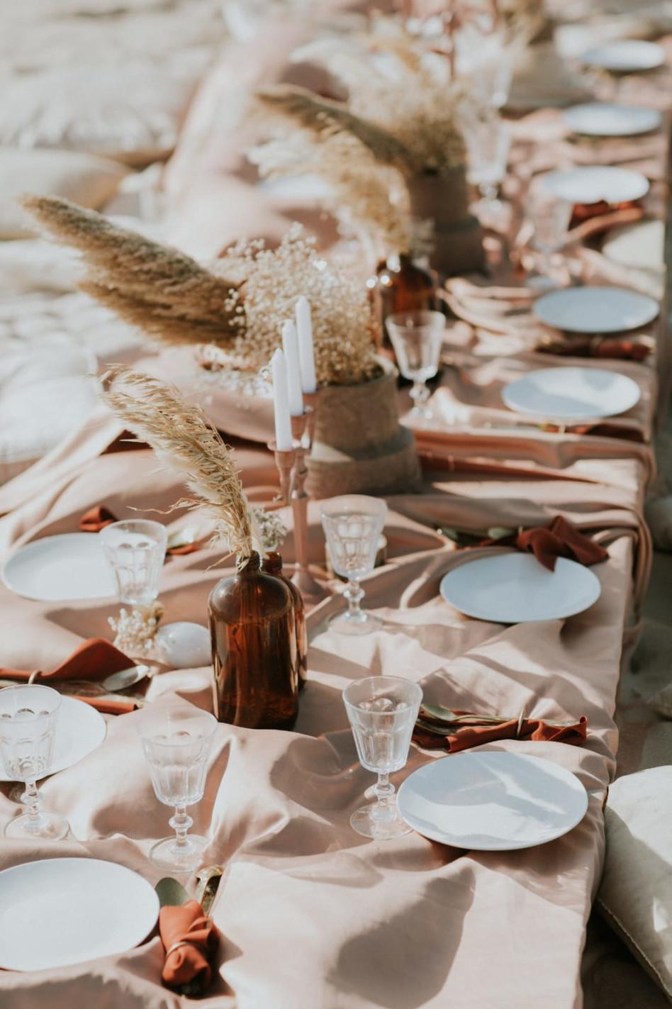 עיצוב השולחן של המשפחה (צילום: עידן חסון)