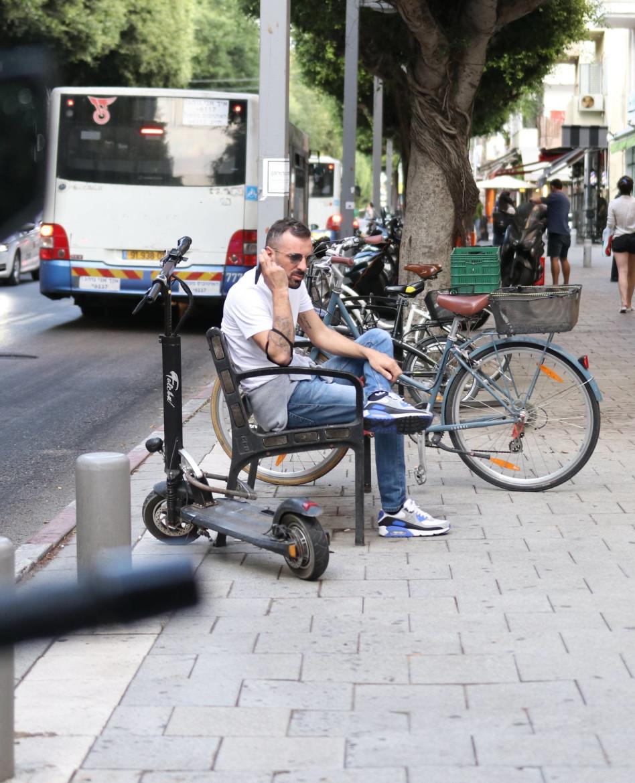 נח לפני הקניות (צילום: אור גפן)