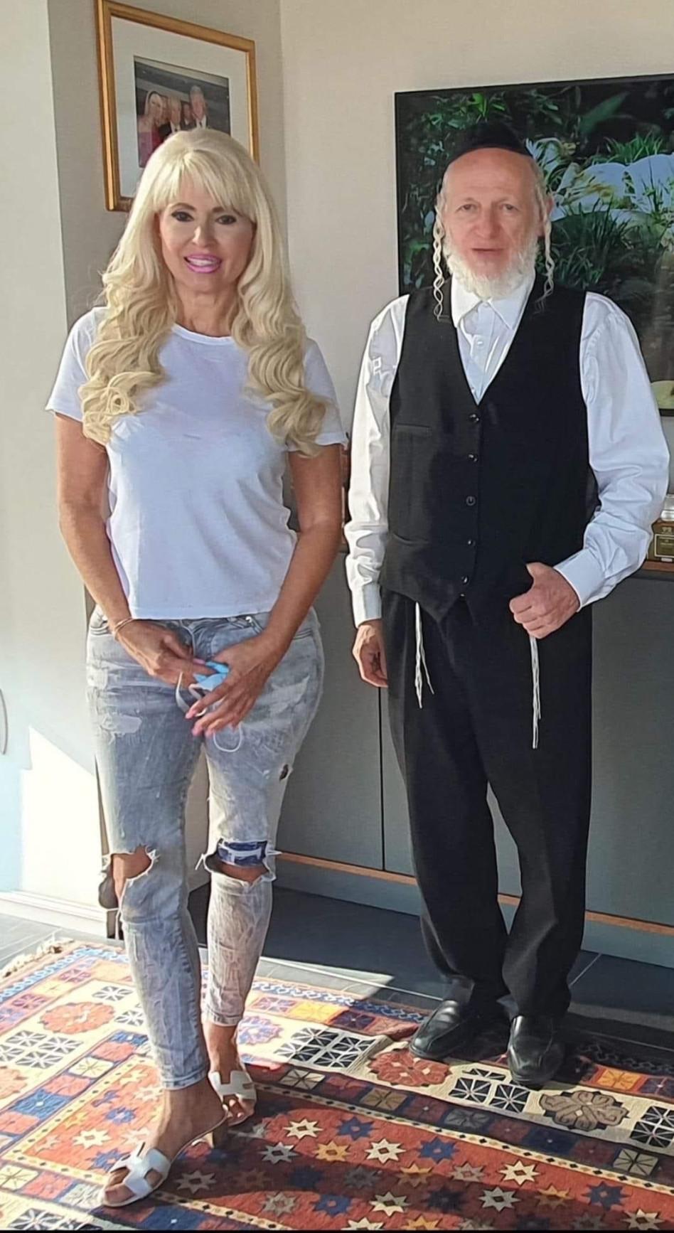 יהודה משי זהב ופנינה רוזנבלום (צילום: ענת מחנאי)