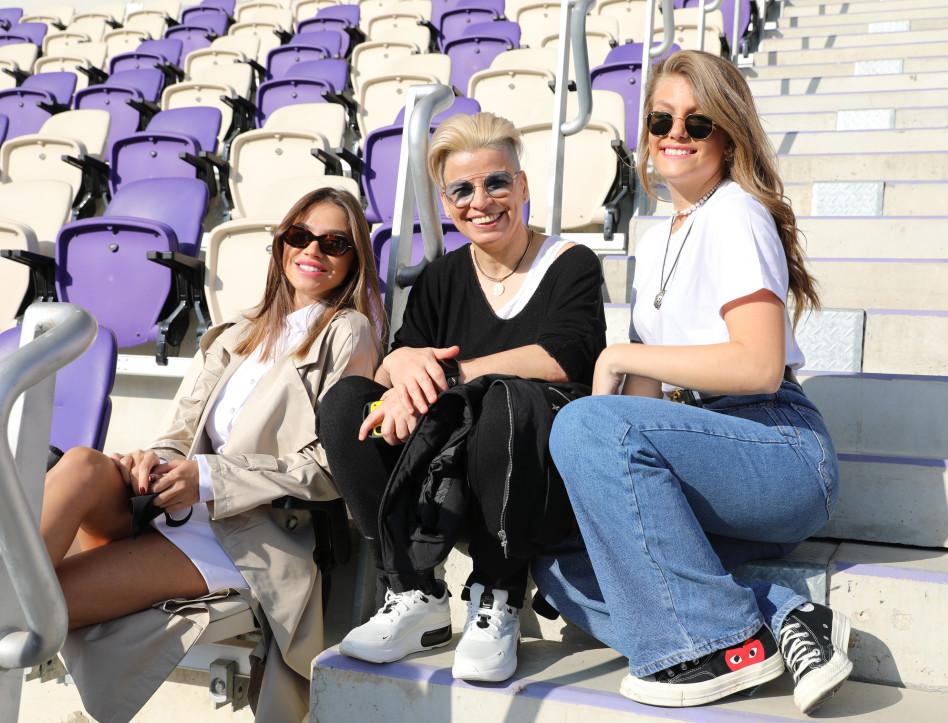 טיילור מלכוב, סילבי ז'אן, רוסלנה רודינה (צילום: רפי דלויה HOT)