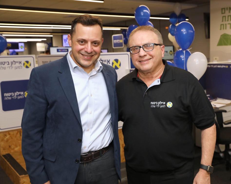 אריק יוגב ואבי סמואלס (צילום: רפי דלויה)
