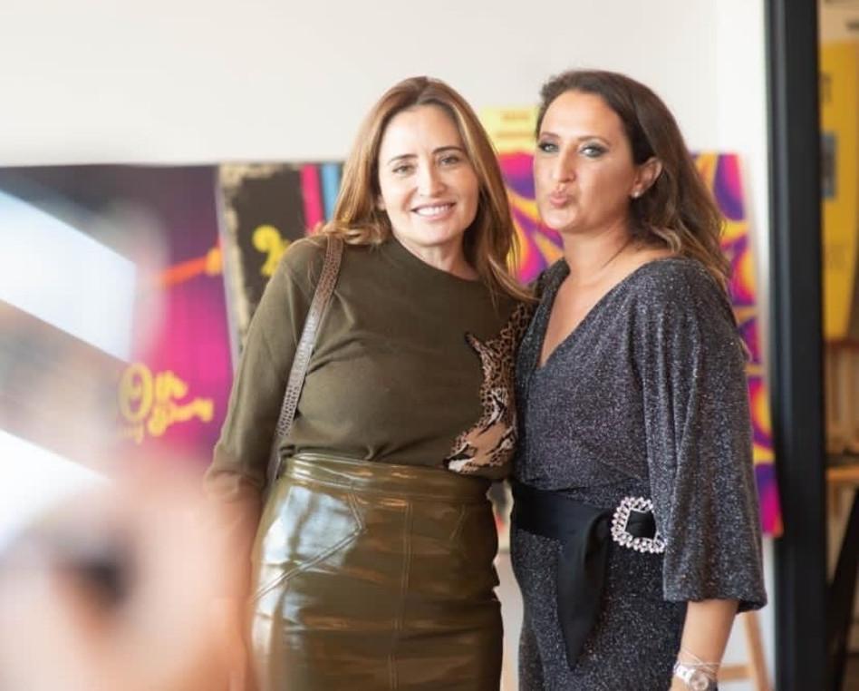 ליאת מוליוב ופולה בליק (צילום: סולאל פקיאל)