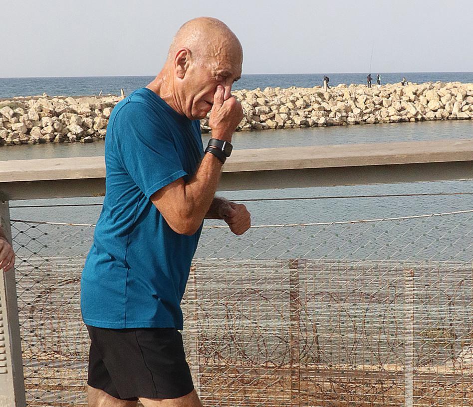 אהוד אולמרט (צילום: פול סגל)