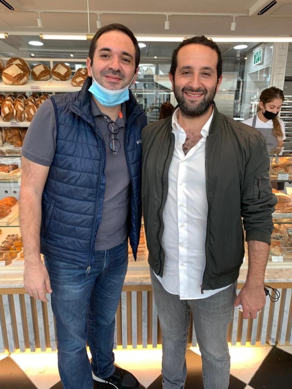 יואן סמדג'ה ויוסף זהר (צילום: יחצ)