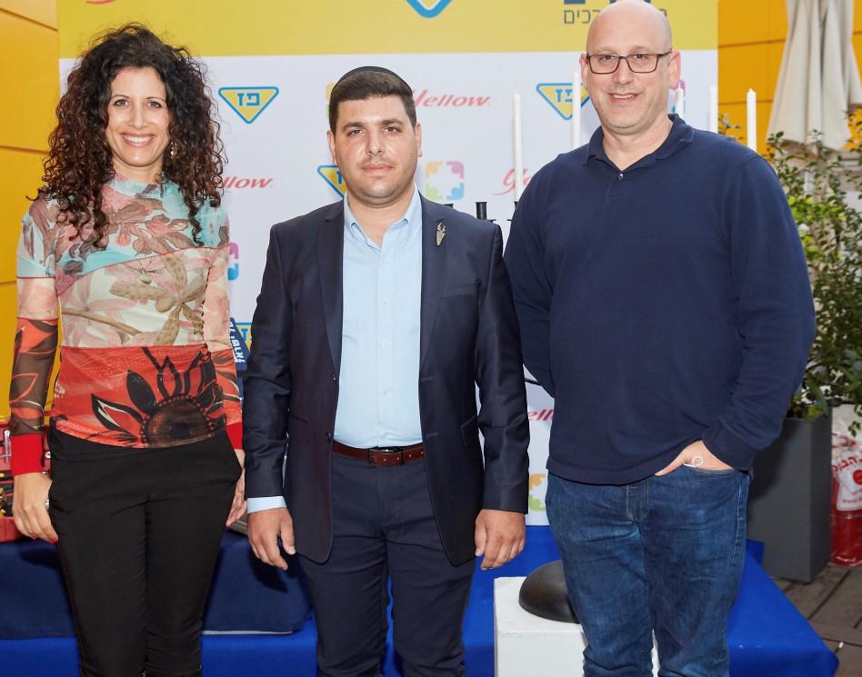 ניר שטרן, ישראל אלמסי ודפנה גיא- שטגמן (צילום: שוקה כהן)