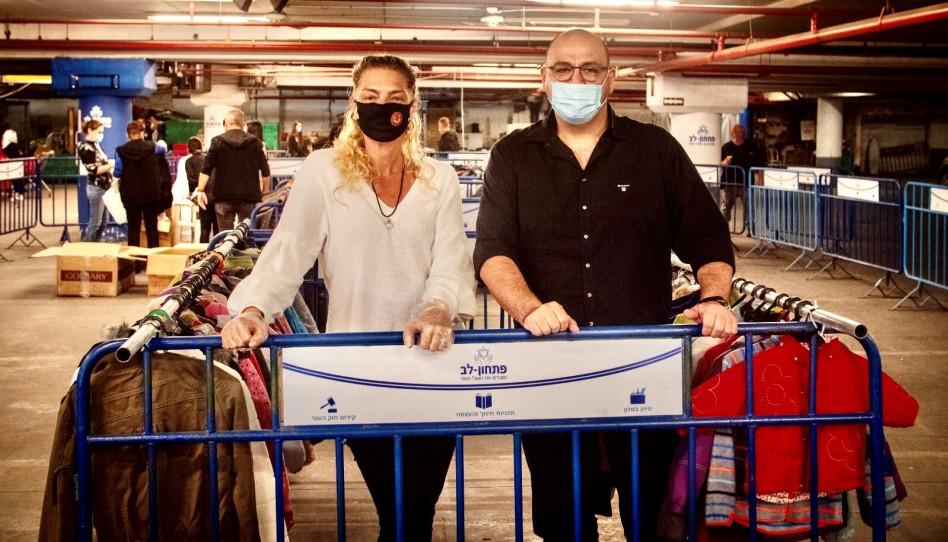 אלי כהן ומיכאלה ברקו (צילום: יח''צ)