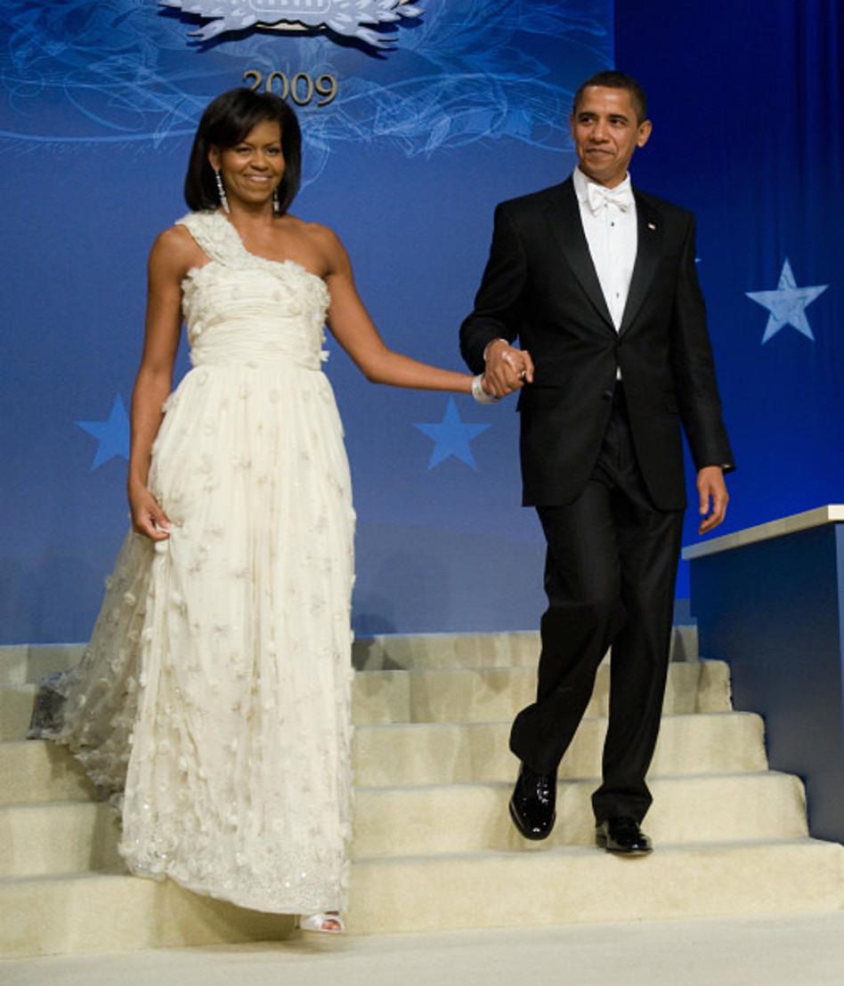 ברק ומישל אובמה (צילום: pool gettyimages)