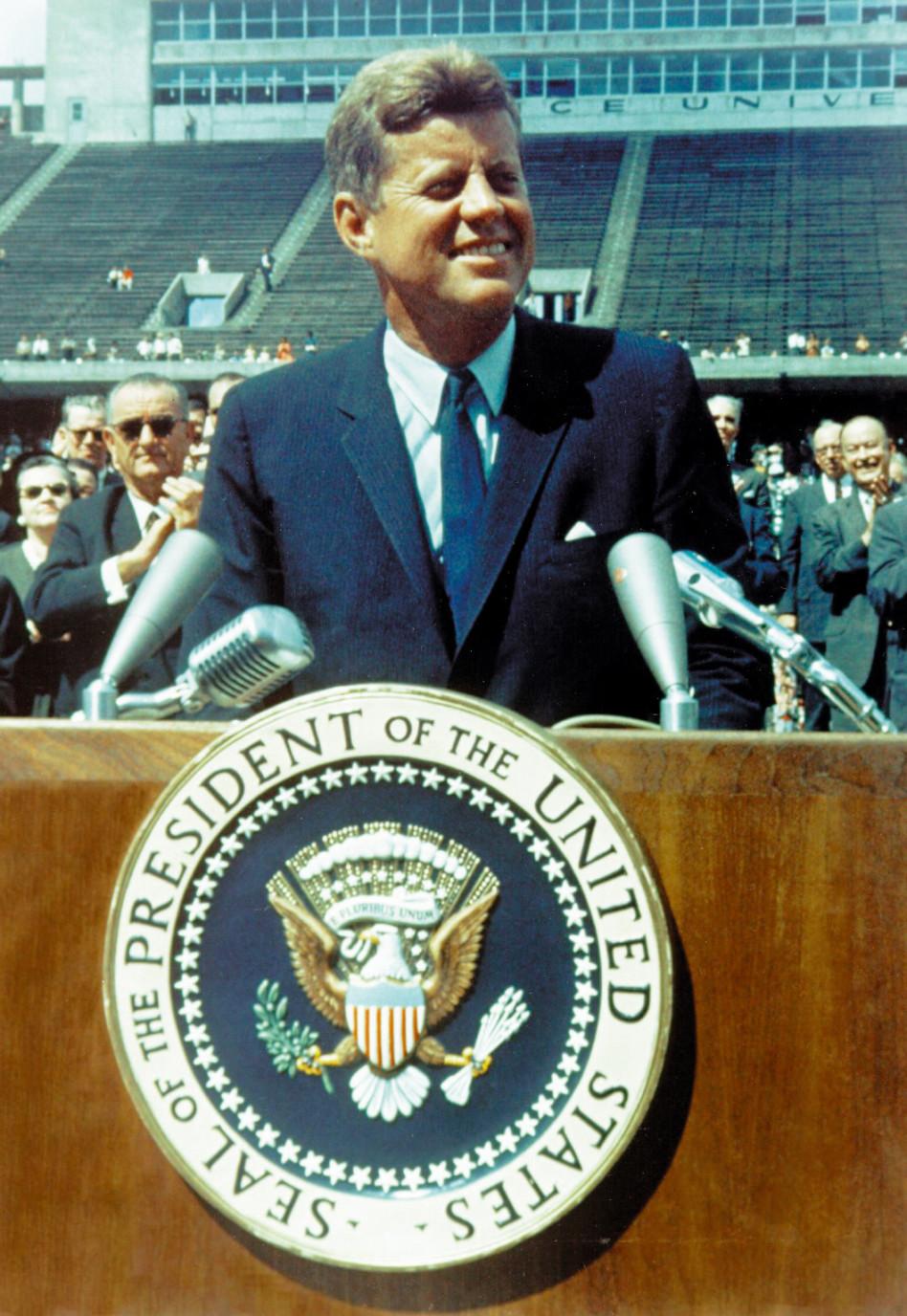 ג'ון פ. קנדי (צילום: AFP)