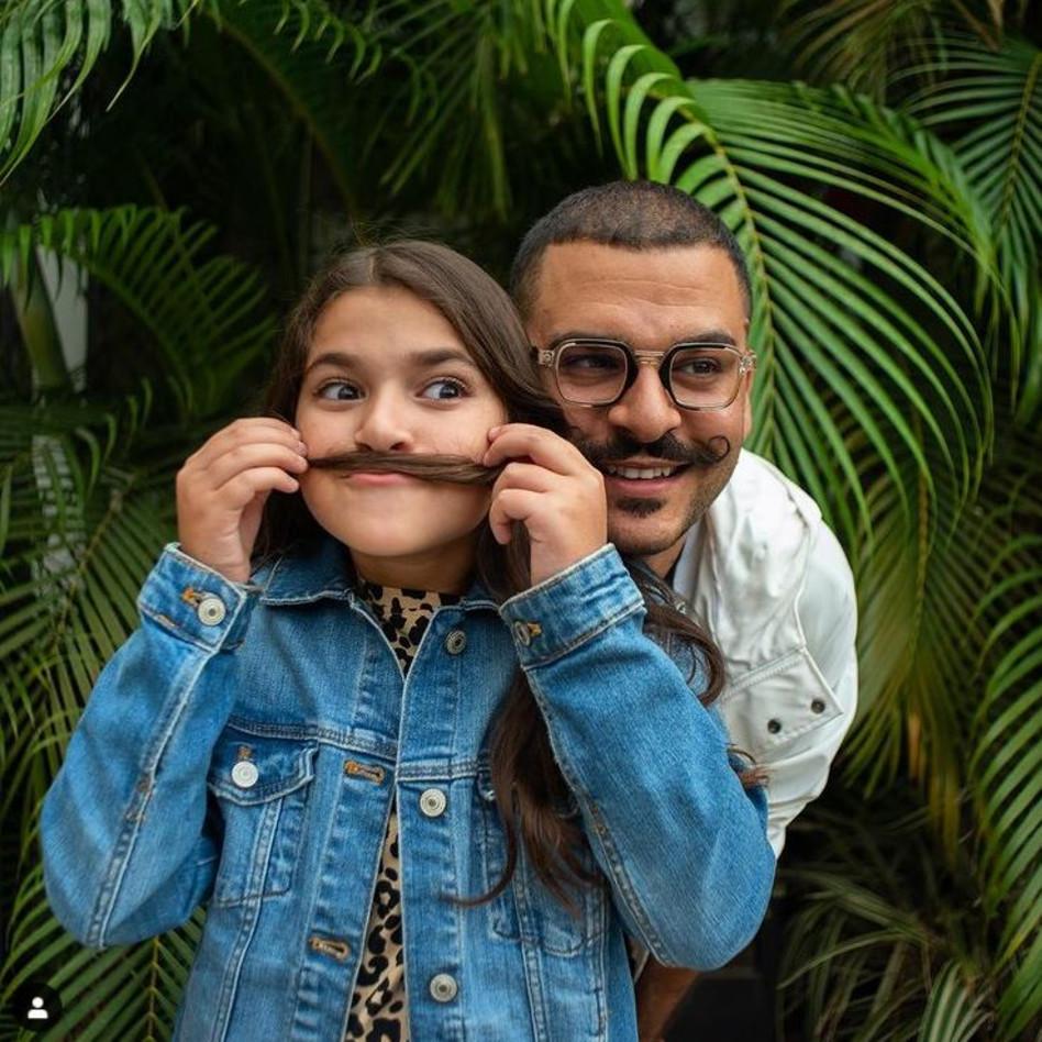 דרור קונטנטו ובתו (צילום: גיא דניאלי)