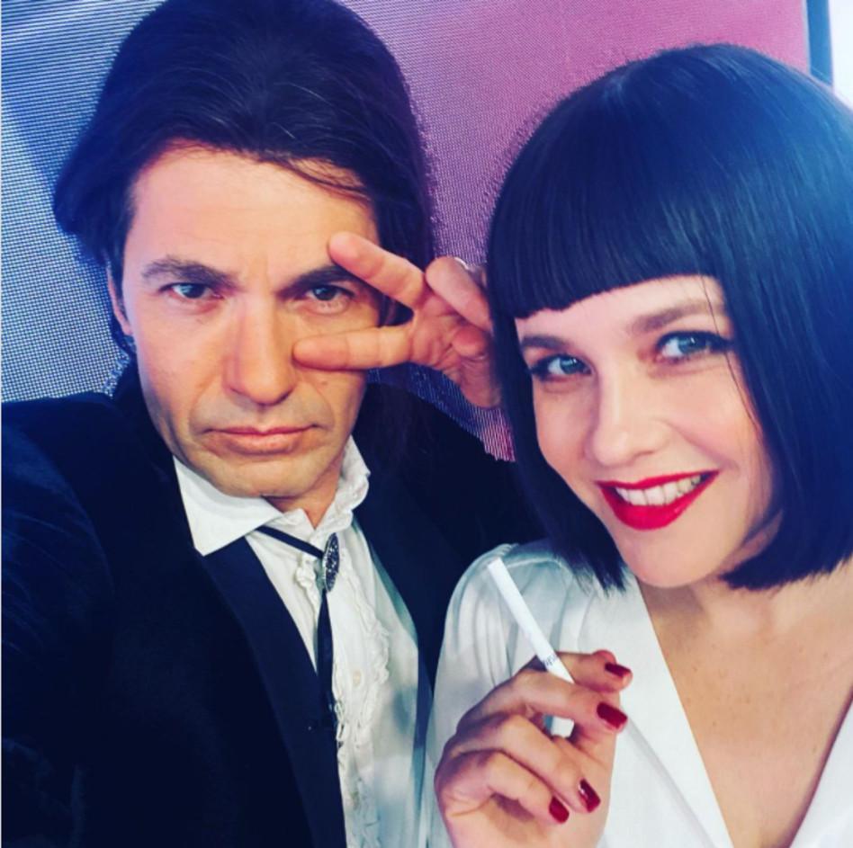 פאולה וליאון רוזנברג (צילום: צילום מסך אינסטגרם)