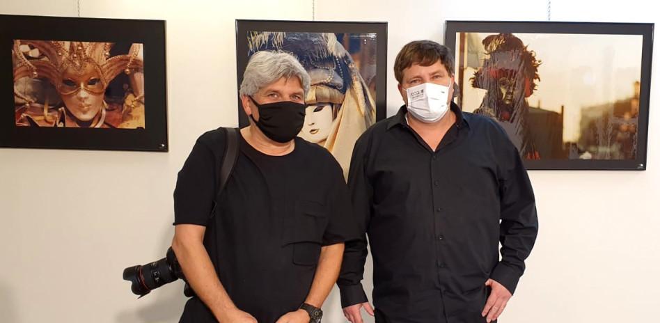 רמי גרינברג וסיון פרג' (צילום: באדיבות סטודיו פרג')