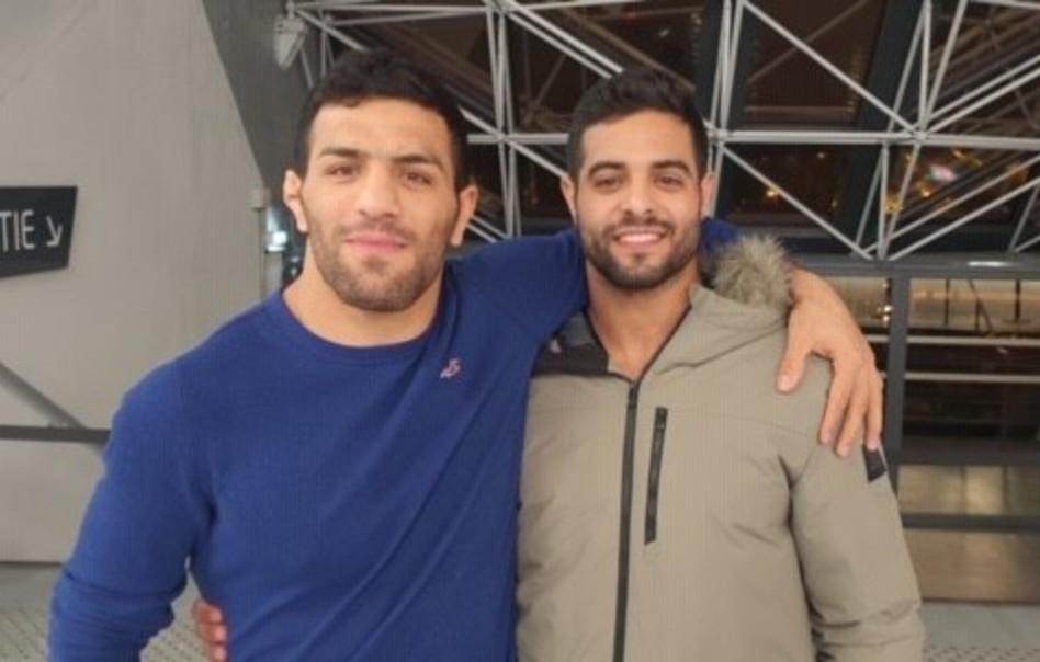 שגיא מוקי וסעיד מולאי (צילום: פרטי)