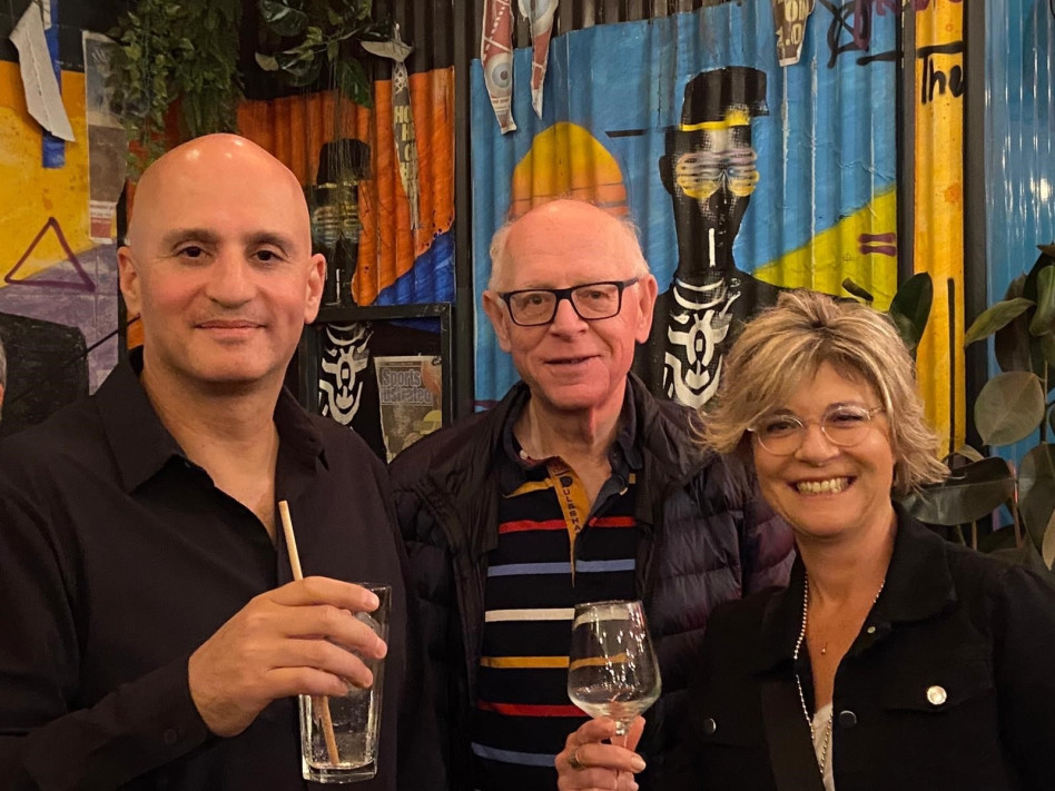 ציפי איסר-איציק, ליפא מאיר ואלון פומרנץ (צילום: מיכל מורן)