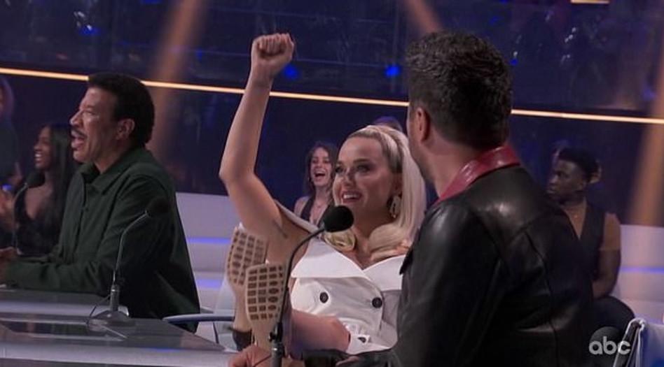 קייטי פרי (צילום: צילום מסך ABC)