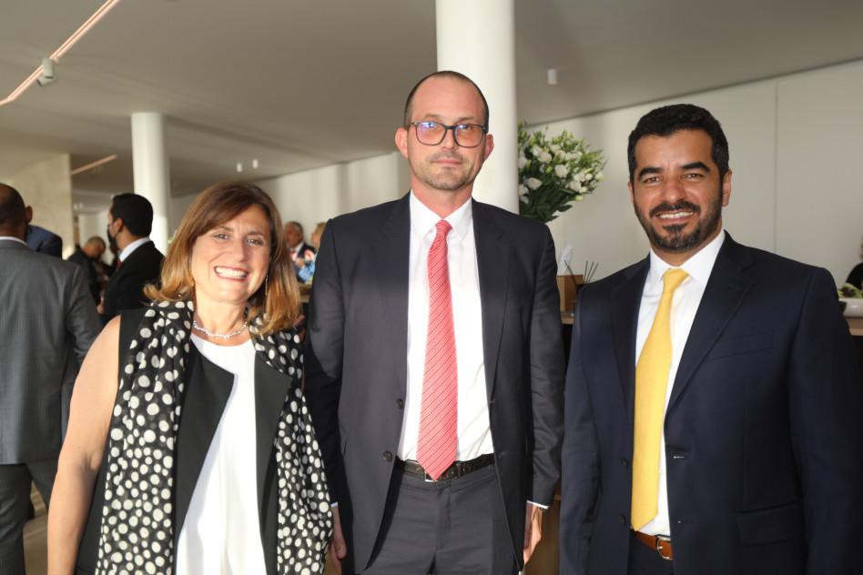 מוחמד עבדאללה אל זאבי, מנואל ראבאטה, טניה כהן-עוזיאלי (צילום: סיון פרג')