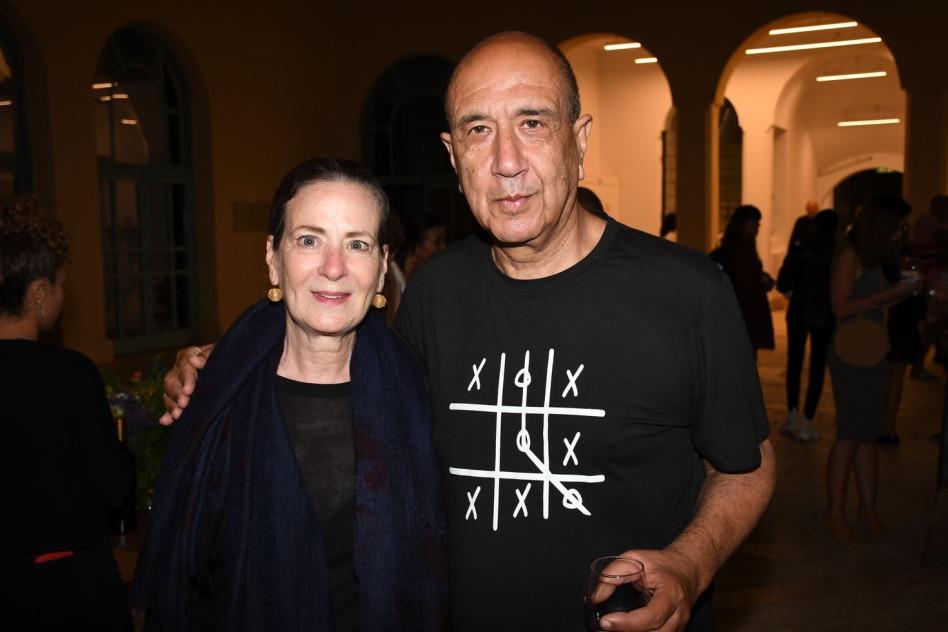 רוני סומק ונורית אמדור (צילום: אביב חופי)