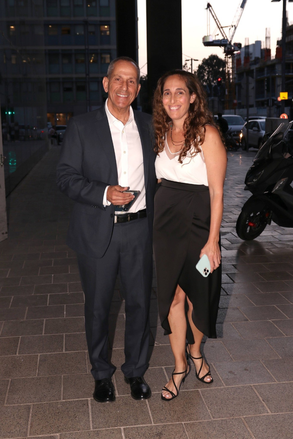 מאיה ושמואל האוזר (צילום: אור גפן)