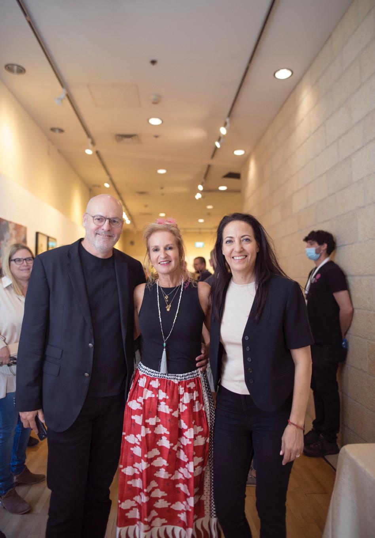 ליהיא לפיד, רונית רייק ומוטי שוורץ  (צילום: ריק רחמן)