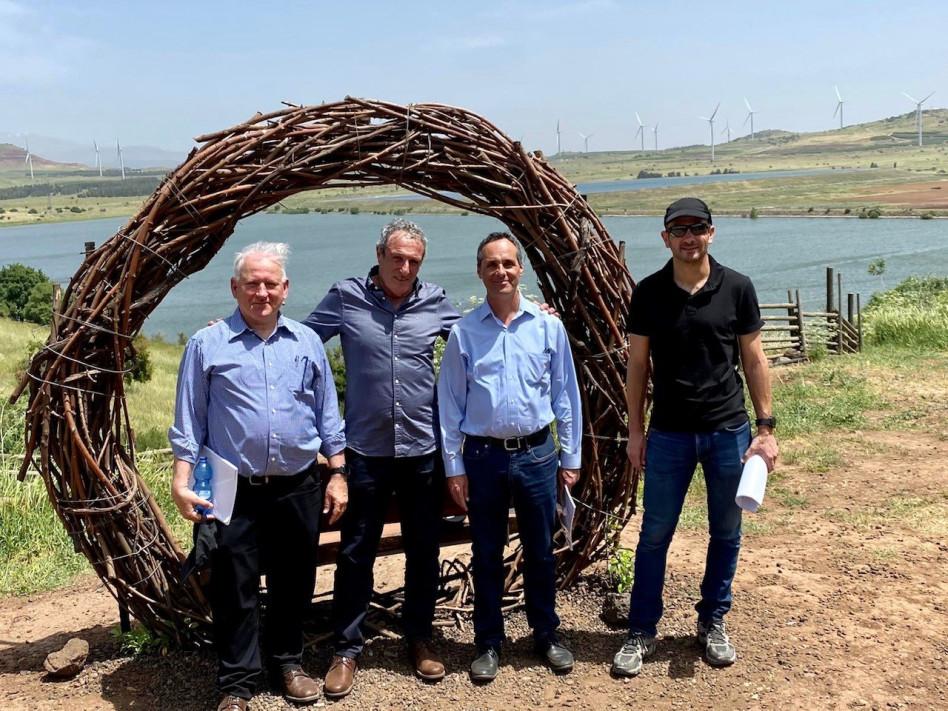גלעד יעבץ, צחי כהן, ראובן קרופיק ויאיר סרוסי (צילום: אסף אזולאי)