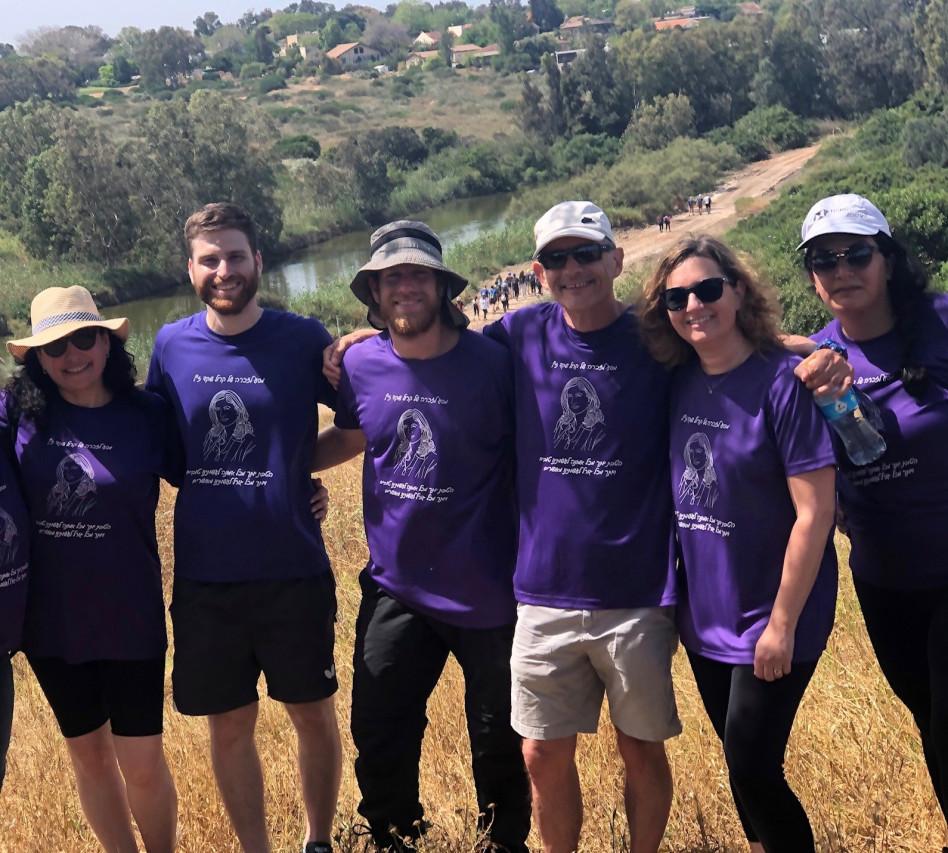נטלי בביאן, פזית קליר, מייקל ישראל, חן ואדר שקד ודלית אורי (צילום: באדיבות HSBC)