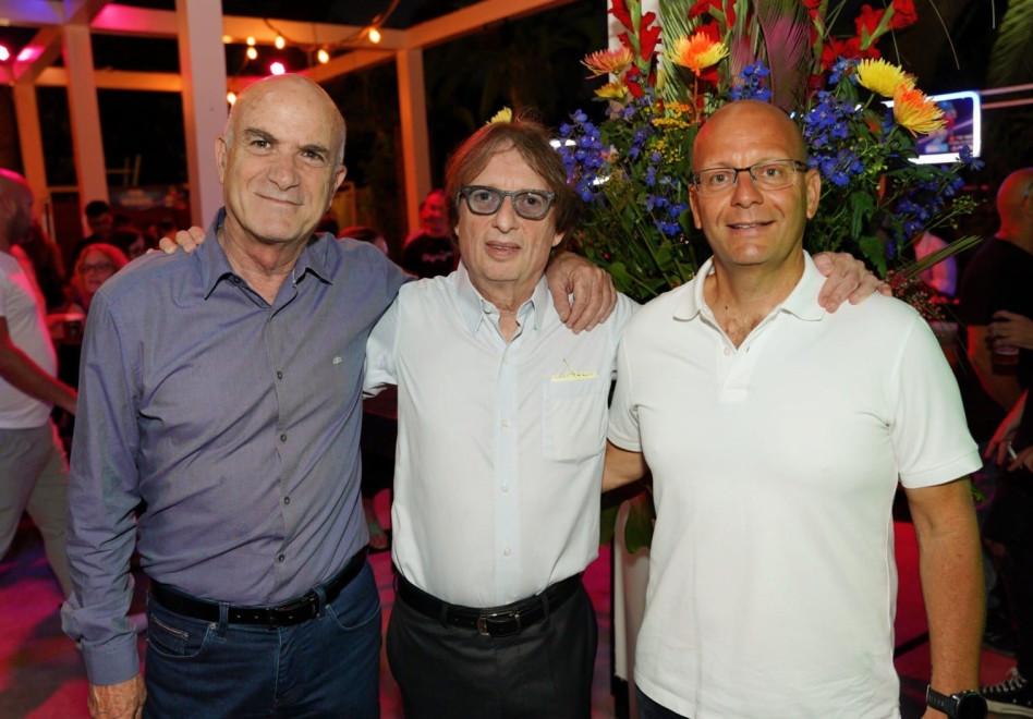 קובי הבר, מוקי שנידמן ויוסי קוצ'יק (צילום: יניב כהן)