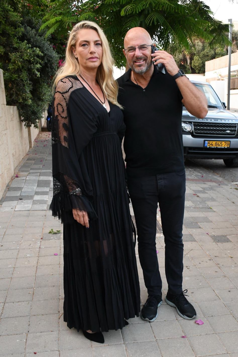 רון צוקרמן ומיכאלה ברקו (צילום: אביב חופי)