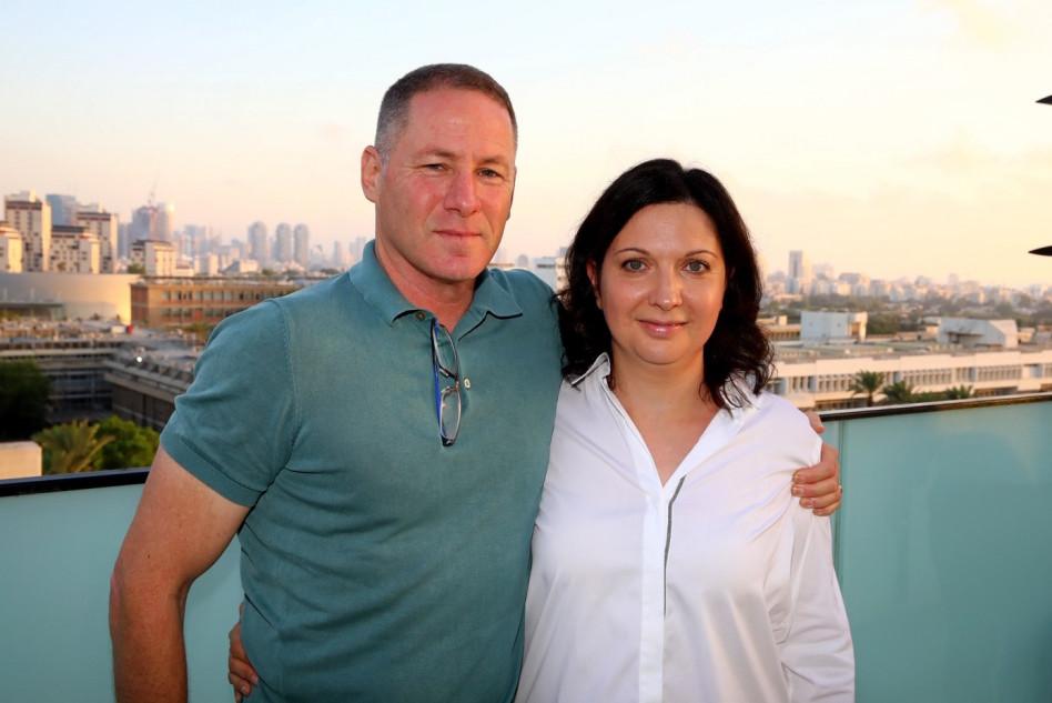 אירינה נבזלין ודן תדמור (צילום: איציק בירן)