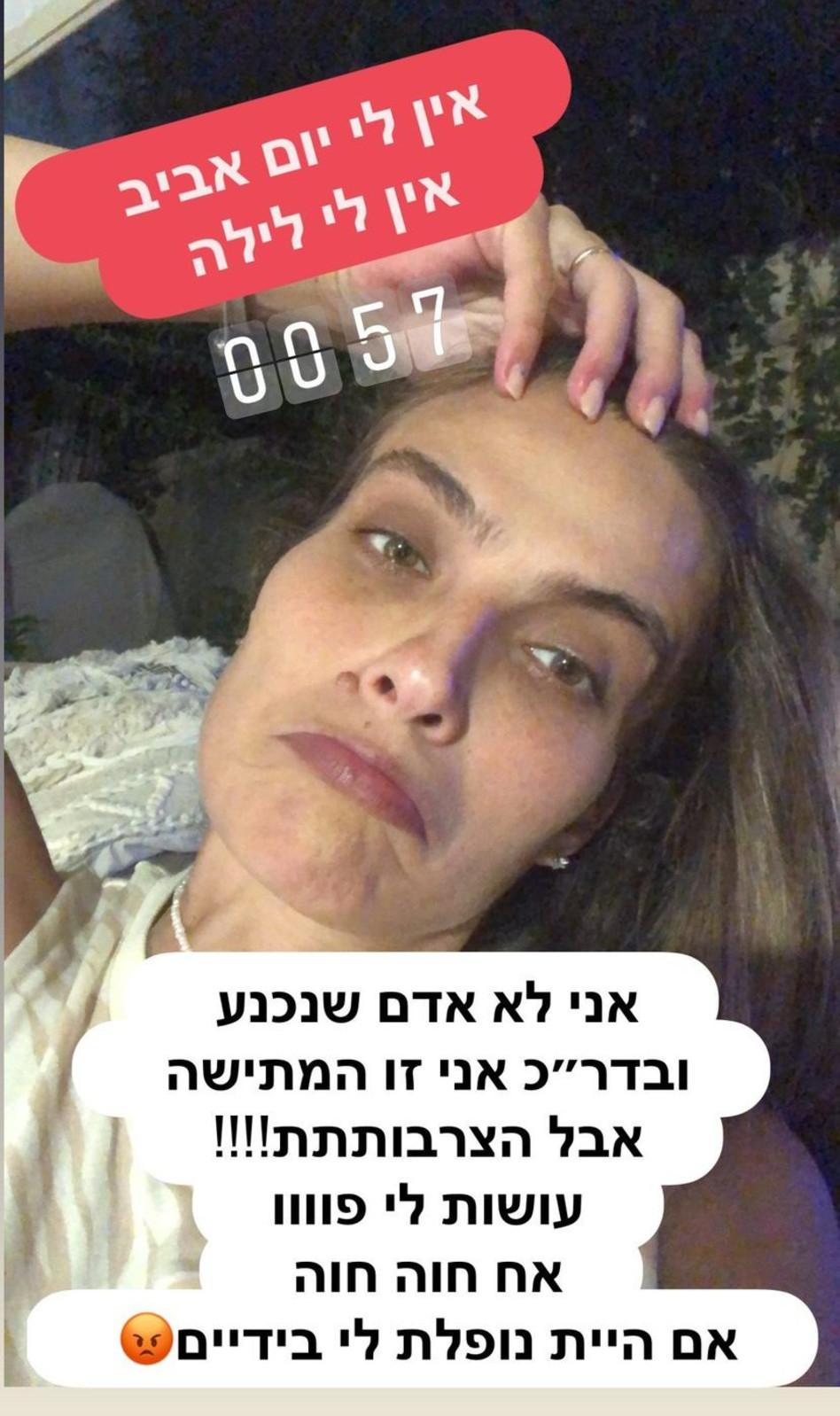 אילנית לוי (צילום: צילום מסך אינסטגרם)