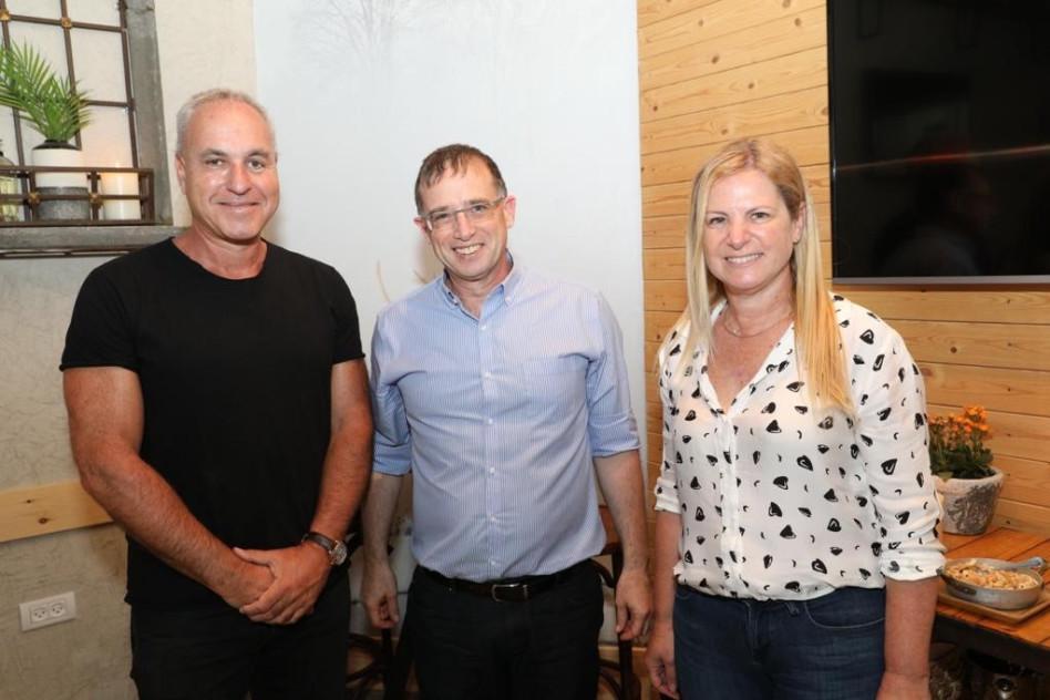 נורית שקד, רן גוראון וערן וולף (צילום: רפי דלויה)
