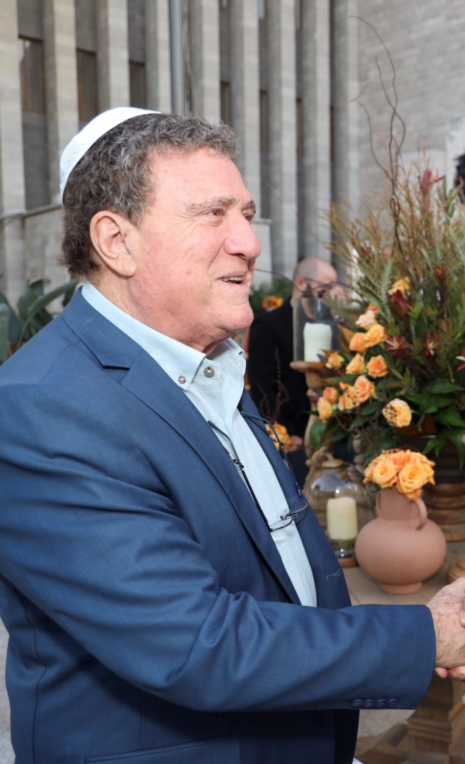 יהורם גאון (צילום: ינאי רובחה ופרי מנדלבוים)