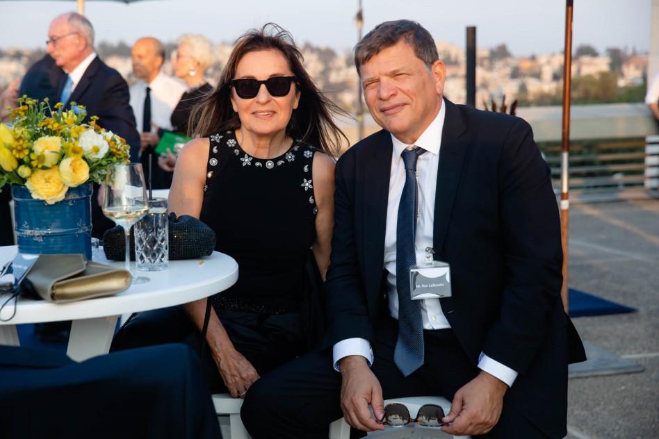 רון וחנה לבקוביץ' (צילום: ערן בארי)
