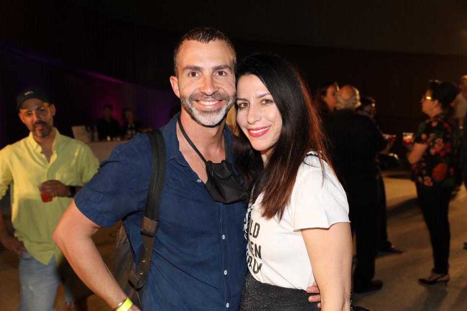 נילי אסיא ואורי להב   (צילום: רפי דלויה)