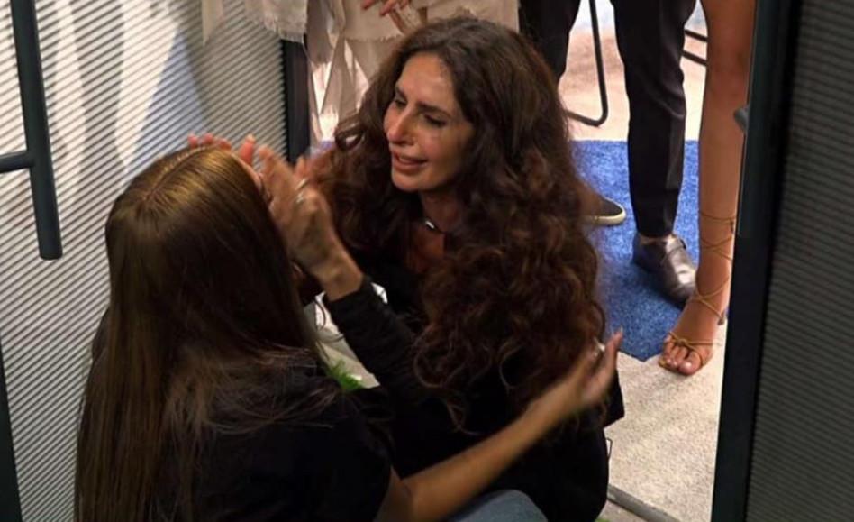 מירי כהן פוגשת את הבת אלין (צילום: צילום מסך רשת 13)
