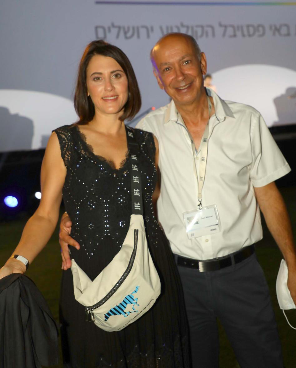 דני מימראן ונועה רגב (צילום: סיון פרג')