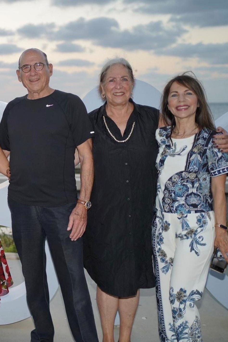 יונה ברטל, טליה וגד זאבי (צילום: אלון שטרן)