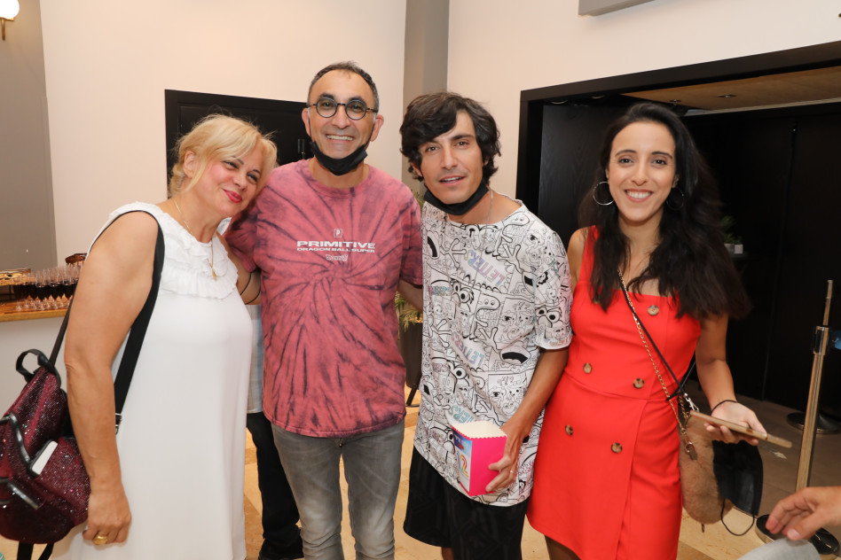 פרלה דנוך, מני ממטרה, ישראל קטורזה, אילנה אביטל (צילום: רפי דלויה)